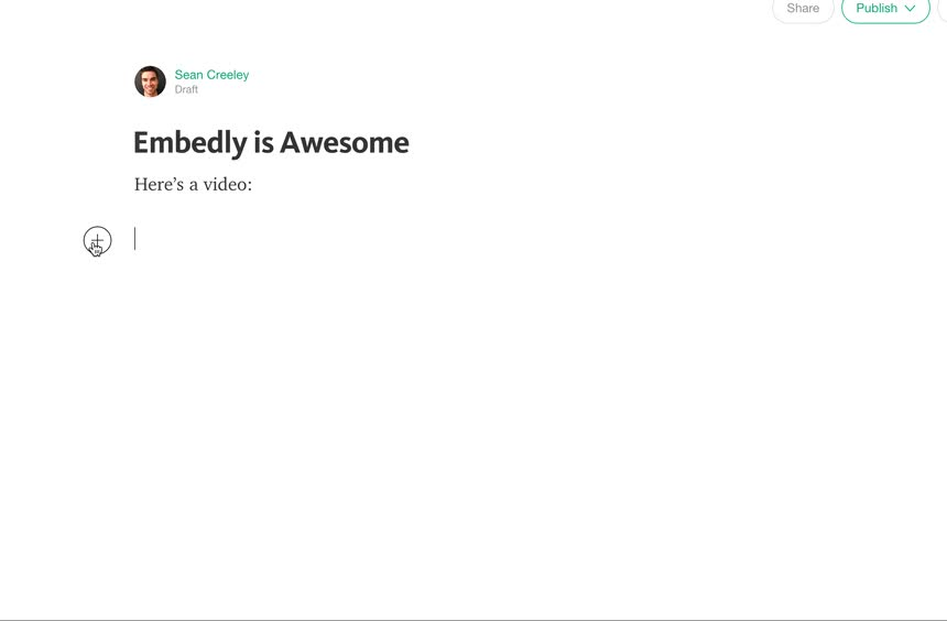 How to Embed on Medium · Embedly Documentation